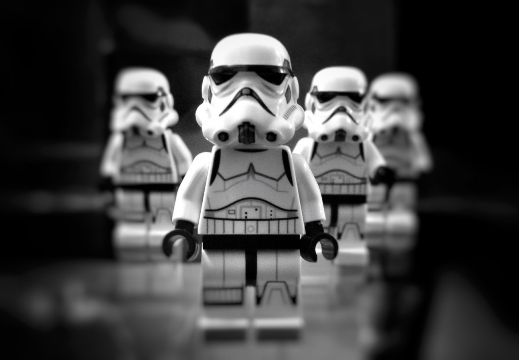 Star Wars lego storm troopers