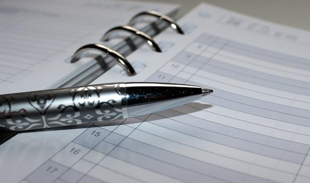 pen and schedule
